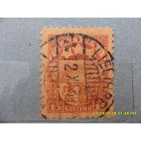 Латвия 1931 год - 15 сантимов, из коллекции