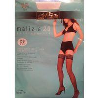 Чулки женские OMSA MALIZIA 20den bianco размер2