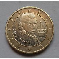 1 евро, Австрия 2002 г.