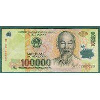 ВЬЕТНАМ 100000 донг полимер
