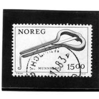 Норвегия.Ми-864.музыкальный инструмент. 1982.