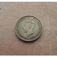 Британская Западная Африка, 1 шиллинг 1939 г., Георг VI (1936-1952)