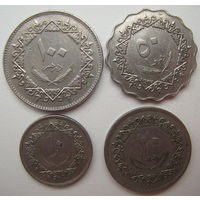 Ливия 10-20-50-100 дирхем 1975 г. Цена за все (u)