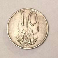 ЮАР 10 центов 1972