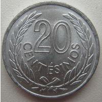 Уругвай 20 сентесимо 1965 г.