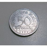 ГЕРМАНИЯ 50 пфеннигов 1922 сохран