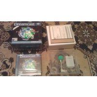 Оригинальный микрофон для Sega Dreamcast c лицензионным диском в комплекте, новый!