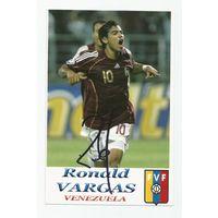 Ronald Vargas(Венесуэла). Фотография с живым автографом.