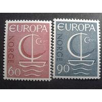 Норвегия 1966 Европа полная