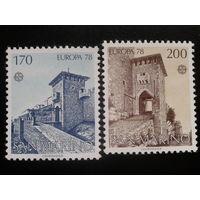 Сан-Марино 1978 Европа полная серия