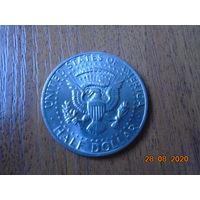 1/2 доллара 1974 года. США