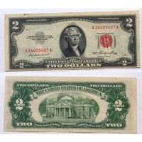 2 доллара США, 1953
