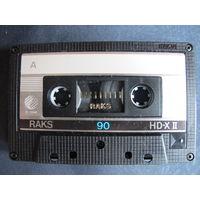 Аудиокассета RAKS HD-XII 90