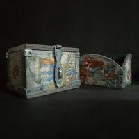 Короб и сундук ''Паб'' для хранения
