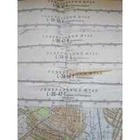 Карты Генерального штаба, УССР, Запорожская обл, в 1 см - 500 метров.
