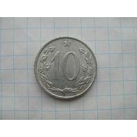 Чехословакия 10 гелеров1971г.