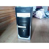 Системный блок (HDD / DVD RW / FD) + клавиатура Logitech Y-SZ49 + кабель 220 В.