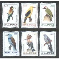 Молдавия Фауна (птицы) 1992 г