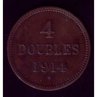 4 Дубля 1914 год Гернси