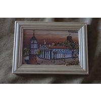 Картина в рамке - Вильнюс