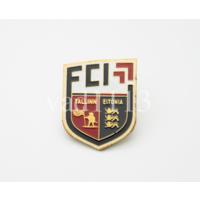 Футбол значок ФКИ Таллин Эстония