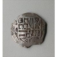 Испанские колонии 8 реал Филип четвертый