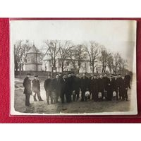 Фото - д. Новая Мышь - Барановичский р-н - костел - храм - 1950-е