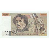 Франция, 100 франков 1988 год.