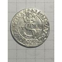 3 гроша Сигизмунда Августа 2-го 1562г