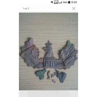 Военная кокарда пикельхельма- германия- пмв