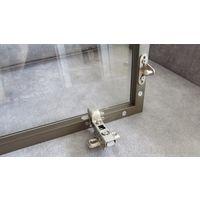 Для полки: стекло в алюминиевом профиле 136х27 с комплектом газовых пружин