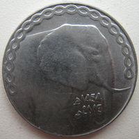 Алжир 5 динаров 2013 г. Слон