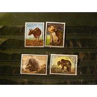 Лаос 1985 фауна Животный мир