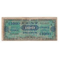 Франция 100 франков образца 1944 года. Нечастая!