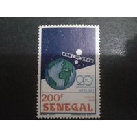 Сенегал 1987 спутник Mi-2,2 евро