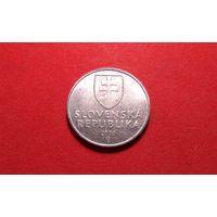 10 геллеров 2000. Словакия.