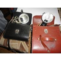 Фотовспышки старые луч и другие рабочие комплекты