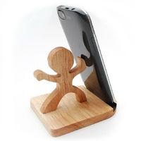 Деревянная подставка для телефона Каратэ