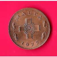 49-15 Мальта, 1 цент 1977 г.