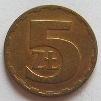 Польша, 5 злотых 1977 г