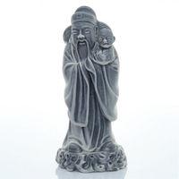 Конфуций с ребенком  мрамор,  мраморная крошка Божества (фен шуй)
