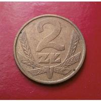 2 злотых 1985 Польша #03