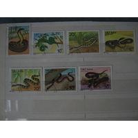 Марки - фауна, Змеи Вьетнам