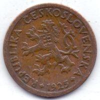 Чехия, Первая Республика, 10 геллеров 1925 года.