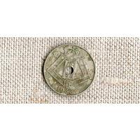 Бельгия 10 сантимов 1938 //(ON)