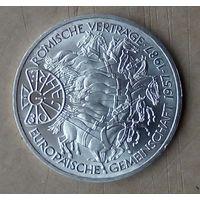 Монета 10 марок ФРГ 1987 года