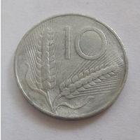 Италия 10 лир 1951