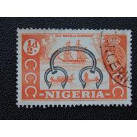 Британская Нигерия 1953 г. Британская колония. Флот.