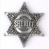 Пряжка металлическая SHERIF. распродажа
