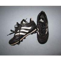 Бутсы Adidas кожаные, р.29 (стелька 18 см)